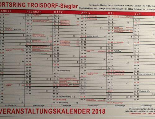 Haussammlungen 2019 – von Tür zu Tür in Sieglar und am Rotter See